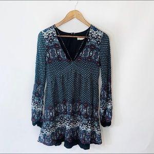 Love riche boho patterned tunic dress